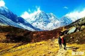 尼泊尔act徒步线路图 尼泊尔act徒步怎么走